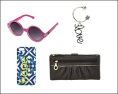 Get a new pair of sunglasses, a purse, cell cover or tons of other   accessories at up to 87% off + free shipping!