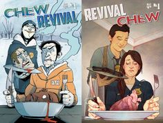 Comic Review: Chew Revival #1 (Image Comics) - Double Issue