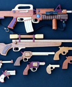 Woodworking plan for building all guns