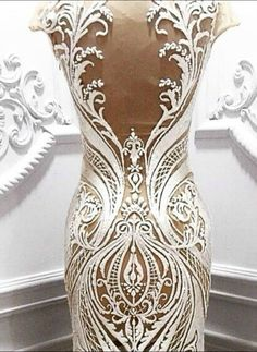 Wow! That's quite the dress.