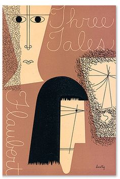"Cover for ""Three Tales"" by Alvin Lustig"