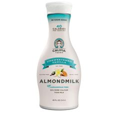 It took me a WHILE to find an almond milk I liked. I was getting pretty frustrated because it's a lot of money to waste on an experiment. My nutritionist suggested this one and she was right. It is so good I no longer like cow milk like I did before. Whole30 Almond Milk, Cashew Milk, Make Coconut Milk, Lactose Free Milk, Milk Brands, Healthy Milk, Sunflower Lecithin, Milk Alternatives, Products