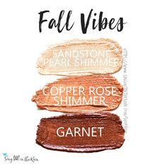 Fall Vibes Eye Trio uses three SeneGence ShadowSense : Sandstone Pearl Shimmer, Copper Rose Shimmer and Garnet. These creme to powder eyeshadows will last ALL DAY on your eye. #shadowsense #trio #shadowsensetrio #eyeshadow #fallvibes