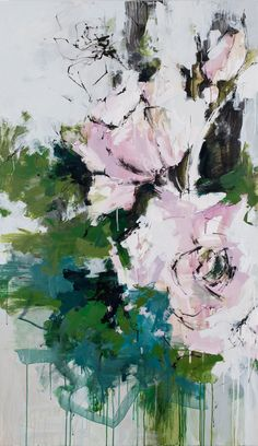 292 Best Abstract Flower Paintings Images In 2019 Abstract