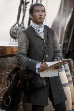 Outlander - Yi Tien Cho as Willoughby Outlander Book Series, Outlander 3, Outlander Casting, Outlander Tv Series, Sam Heughan Outlander, Outlander Characters, Outlander Quotes, Diana Gabaldon Books, Diana Gabaldon Outlander Series