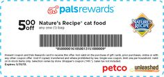 PETCO: $5 off Nature's Recipe Cat Food Printable Coupon