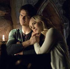 Damon and Caroline