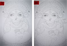 How to Draw Goddess Lakshmi: A Step-by-Step Guide