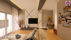 Living room done in duco
