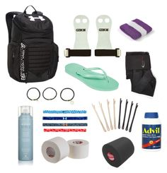 """What's in my gymnastics bag"" by b-butler00 on Polyvore"