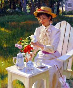 Gregory Frank Harris - Morning bouquet