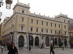 Megaro Mela, Aiolou street.    Designed by Ernst Ziller. It was the biggest and most expensive private building of Athens at that time