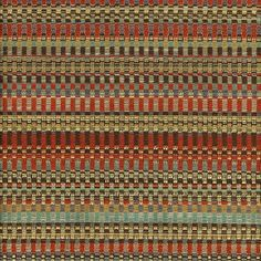Limited Stock on a Discontinued Item - Only 4 yards are available.  A heavyweight woven tweed upholstery fabric in pumpkin orange, aqua blue, chocolate brown, mustard yellow and ivory. This durable home decor fabric is suitable for all furniture upholstery, pillows and fabric headboards. ORDERING INFORMATION:  *The listing price is per yard. *Minimum Order is one (1) yard. *Please check the quantity for your desired yardage. *Multiple yardage orders are cut in one continuous piece. *Metric…
