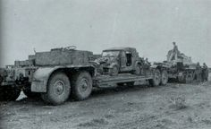 A Sd. Ah. 116 heavy trailer used to transport this lone VW Type 82 Kubelwagen