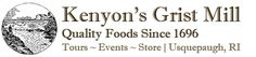 Kenyons Grist Mill - History and recipes
