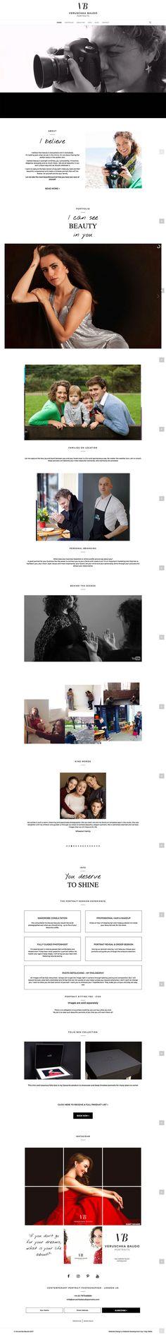 Veruschka Baudo Photography Website  Website Design & Development by 1 Day Webs (http://www.1daywebs.com/)