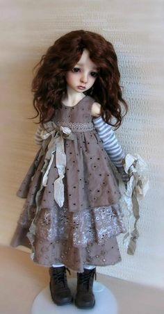 Грета! Кукла БЖД от Доллстаун! / BJD - шарнирные куклы БЖД / Бэйбики. Куклы фото. Одежда для кукол