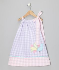 Take a look at this Purple Peacock Seersucker Swing Dress - Infant, Toddler & Girls by Stellybelly on #zulily today!
