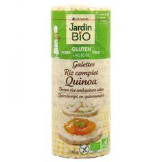 Galettes de riz complet au quinoa sans gluten