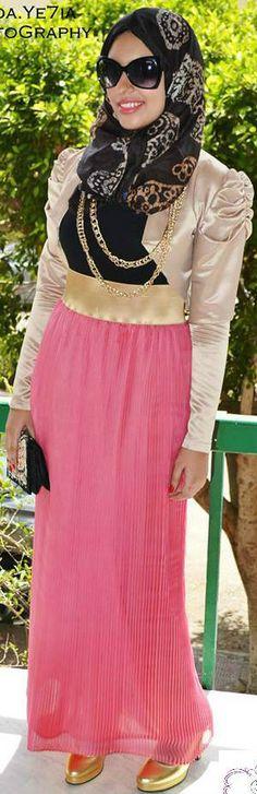 #Maleeka Hijab Design 2013 | So Elegant.