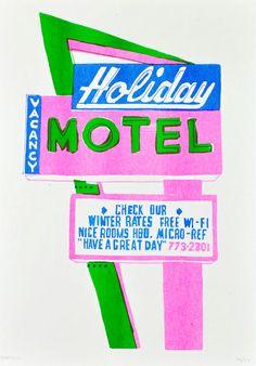 Holiday Motel. Holly Wales