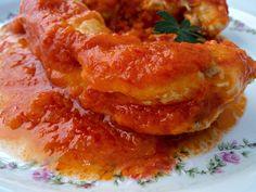 Pollo colorao (Con tomate)
