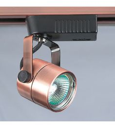 Track lighting modern tracks led lighting fixtures track lights plc lighting slick 12v track fixture in copper tr28 cp aloadofball Image collections