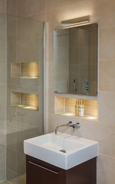 Bathroom Mirrors With Lights Built In 25 amazing bathroom light ideas | laundry, kitchens and inspiration