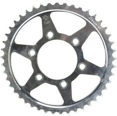 Primary Drive Rear Aluminum Sprocket 45 Tooth Orange for KTM 500 EXC-F 2017-2018