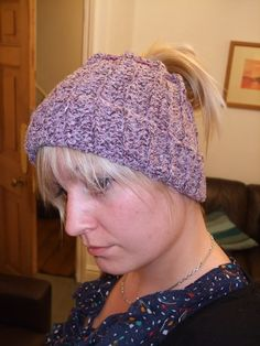 """I love this """"hat"""" Great for Kendra so she can wear her ponytail or buns and still keep her ears warm."""