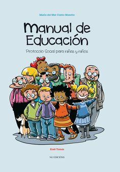 manual de educación Protocolo Social para niñas y niños  Sección 17