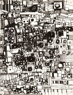 by Zak Smith...Another Abstract Drawing