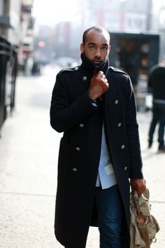 http://chicerman.com  billy-george:  Always a fan of this look  #streetstyleformen