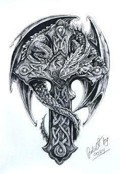 Celtic tattoo men tattoo pinterest for Jeffrey dean morgan tattoo hand