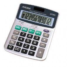 Asztali számológép 12 számjegyes, döntött kijelzővel DT392 Aurora - Számológépek - 1,890Ft - Számológép