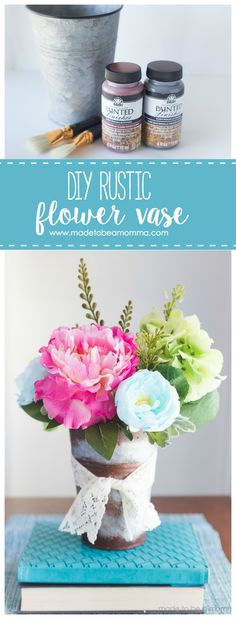 Diy Rustic Flower Va