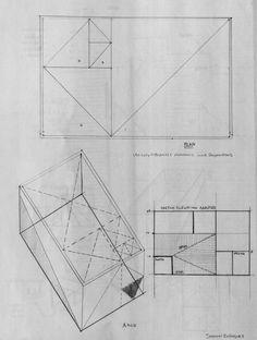 Idea Sketch #art #design #architecture #drawing #sketch  #Axonometric #floorplans #longitudinalsection