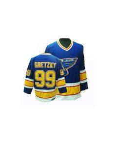 00d9d727a48 #StLouisBlues#99 #Jersey #WayneGretzky #jersey #BlueThrowback #Jersey  #NHLStore