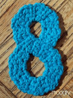 How To Crochet Numbers : ... crochet on Pinterest Crochet numbers, Free pattern and Crochet
