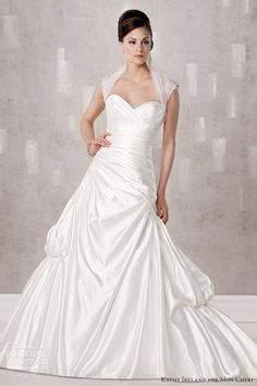 kathy ireland for Mon Cheri Spring 2013 Preview + Fall 2012 Collections — Sponsor Highlight | Wedding Inspirasi | Page 2