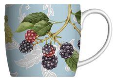 Colette Bishop – Fruit Florentine – Blackberry | Hudson & Middleton - Fine Bone China - £13