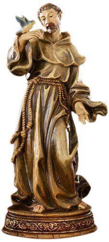 Saint St. Francis Statue Religious Gifts of Faith Milagros http://www.amazon.com/dp/B0044UAC9Q/ref=cm_sw_r_pi_dp_SakLvb0YAMXX5