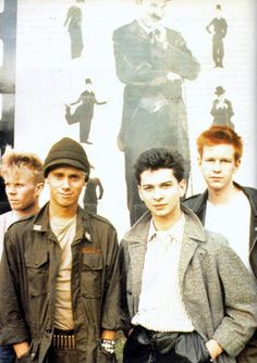 Depeche Mode My very first concert.the good old days! Martin Gore, Beautiful Boys, Pretty Boys, Alan Wilder, Johnny Marr, Enjoy The Silence, Band Pictures, Dave Gahan, Music Images
