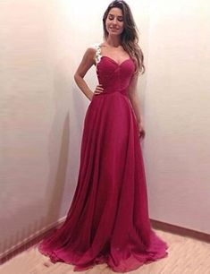 f0d4ae65b566 Stunning Scoop Sweep Train Burgundy Prom Dress Illusion Back with Appliques