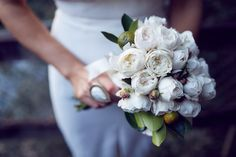 35mm Wedding Photography - Samantha + Richard - bouquet inspiration #davidaustins #weddingflowers #bouquet Blooms By Bethany