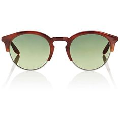 Barton Perreira Men's Griffin Sunglasses ($590) ❤ liked on Polyvore featuring men's fashion, men's accessories, men's eyewear, men's sunglasses, brown, mens eyewear, mens brown sunglasses, mens round sunglasses, mens tortoise shell sunglasses and mens sunglasses