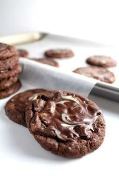 Andes Mint Cookies. Soft baked and spread with mints. They're amazing straight from the oven.
