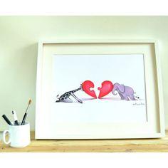 LÁMINA MITADES JUNTAS Ants, The Originals, Paper, Frame, Awesome, Color, Home Decor, Love Messages, Point Of Sale