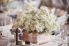 10 Rustic Wedding Centrepieces
