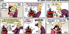 Zits comic. This is how I am lol